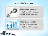 Domino Game Animated PowerPoint Template - Slide 9