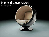 Modern Armchair Animated PowerPoint Template - Slide 1