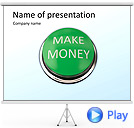 Make Money Animated PowerPoint Templates
