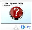 Question Mark Animated PowerPoint Template