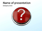 Question Mark Animated PowerPoint Template - Slide 1