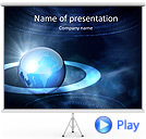 Global Surrounding Animated PowerPoint Template