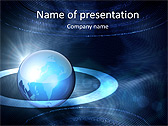 Global Surrounding Animated PowerPoint Template - Slide 1