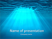 Light Under Water Animated PowerPoint Template - Slide 1