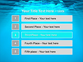 Light Under Water Animated PowerPoint Template - Slide 2