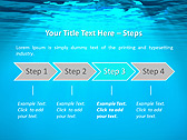 Light Under Water Animated PowerPoint Template - Slide 3