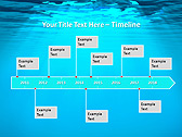 Light Under Water Animated PowerPoint Template - Slide 6