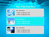 Light Under Water Animated PowerPoint Template - Slide 8