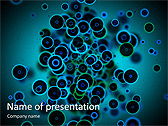 Circles Abstraction Animated PowerPoint Template - Slide 1