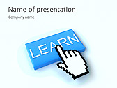 Learn Icon Animated PowerPoint Template - Slide 1