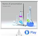 Lab Tubes Animated PowerPoint Template