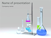Lab Tubes Animated PowerPoint Template - Slide 1