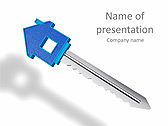 Key To New House Animated PowerPoint Templates - Slide 1