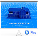 House Model Animated PowerPoint Template