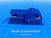 House Model Animated PowerPoint Template - Slide 1