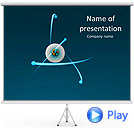 Atom Animated PowerPoint Template