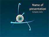 Atom Animated PowerPoint Template - Slide 1