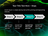 Green Atlas Effect Animated PowerPoint Template - Slide 3