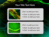 Green Atlas Effect Animated PowerPoint Template - Slide 9