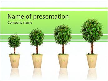 Croissance des arbres Modèles des présentations  PowerPoint