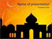 Mosque Illustration PowerPoint Templates