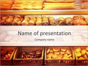 Bakery At Stormarknad PowerPoint presentationsmallar