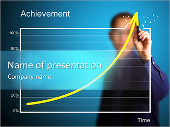 Fast Growth Diagram PowerPoint Template