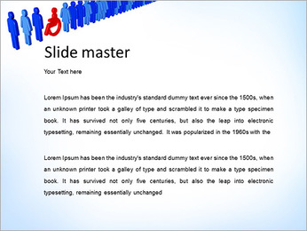 Sign Disable Man PowerPoint Templates - Slide 2