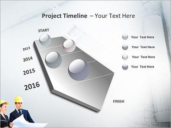 Construtores Colegas Modelos de apresentações PowerPoint - Slide 6