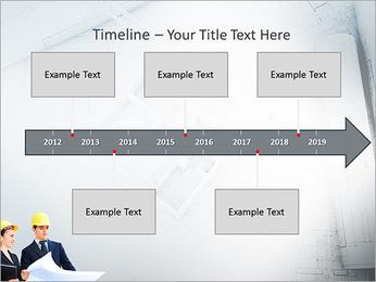 Construtores Colegas Modelos de apresentações PowerPoint - Slide 8