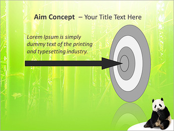 Panda PowerPoint Template - Slide 63