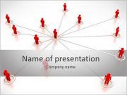 Companyâ € ™ s Beheer Sjablonen PowerPoint presentatie
