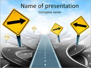 Road Signs PowerPoint Templates
