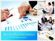 Companyâ € ™ s verksamhet PowerPoint presentationsmallar