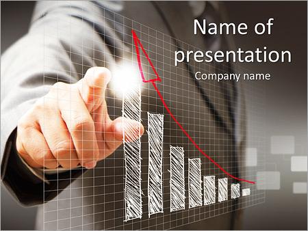 Бизнесмен Сообщить Шаблоны презентаций PowerPoint