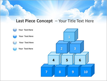 Heaven Light PowerPoint Template - Slide 11