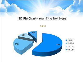 Heaven Light PowerPoint Template - Slide 15