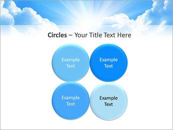 Heaven Light PowerPoint Template - Slide 18