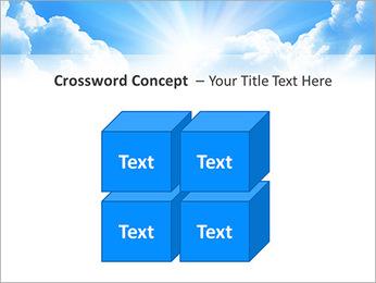 Heaven Light PowerPoint Template - Slide 19