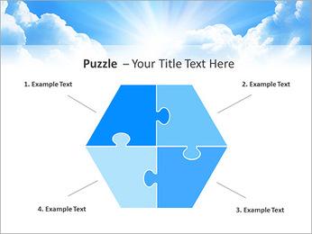 Heaven Light PowerPoint Template - Slide 20