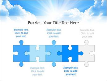 Heaven Light PowerPoint Template - Slide 21