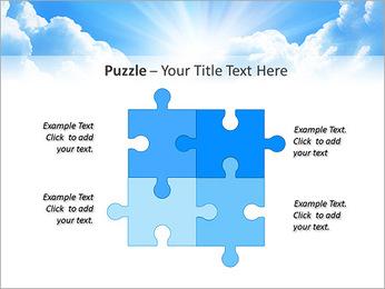 Heaven Light PowerPoint Template - Slide 23