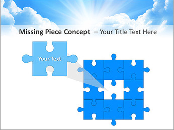 Heaven Light PowerPoint Template - Slide 25