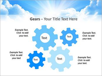 Heaven Light PowerPoint Template - Slide 27