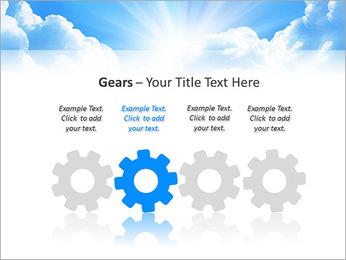 Heaven Light PowerPoint Template - Slide 28