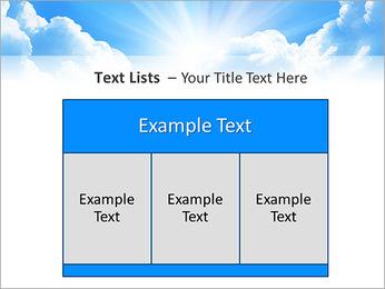 Heaven Light PowerPoint Template - Slide 39