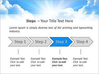 Heaven Light PowerPoint Template - Slide 4