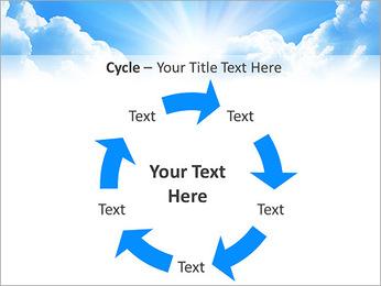Heaven Light PowerPoint Template - Slide 42