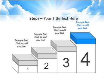 Heaven Light PowerPoint Template - Slide 44