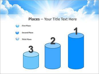 Heaven Light PowerPoint Template - Slide 45